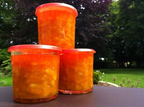 Confiture d'orange home made