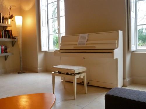 Un piano au Clos des Tilleuls