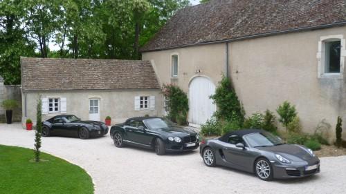 Voitures de luxe Wiesmann Bentley et Porsche luxury car