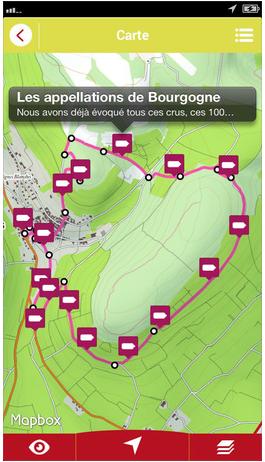 randonnées dans le vignoble bourguignon autour du Clos des Tilleuls, maison d'hôtes de charme